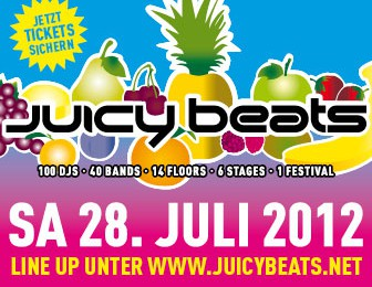 JUICY BEATS 17 | SA. 28. JULI 2012 | WESTFALENPARK | DORTMUND