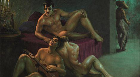 "Eröffnung der Ausstellung ""The Flamboyant Life and Forbidden Art of George Quaintance"" in Berlin"