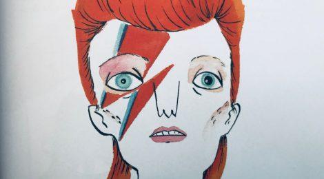 """""""Bowie – Ein illustriertes Leben"""" (Heyne Hardcore)"""