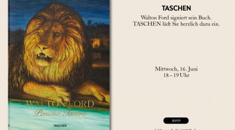 Walton Ford signiert am 16. Juni 2021 im TASCHEN Store Berlin
